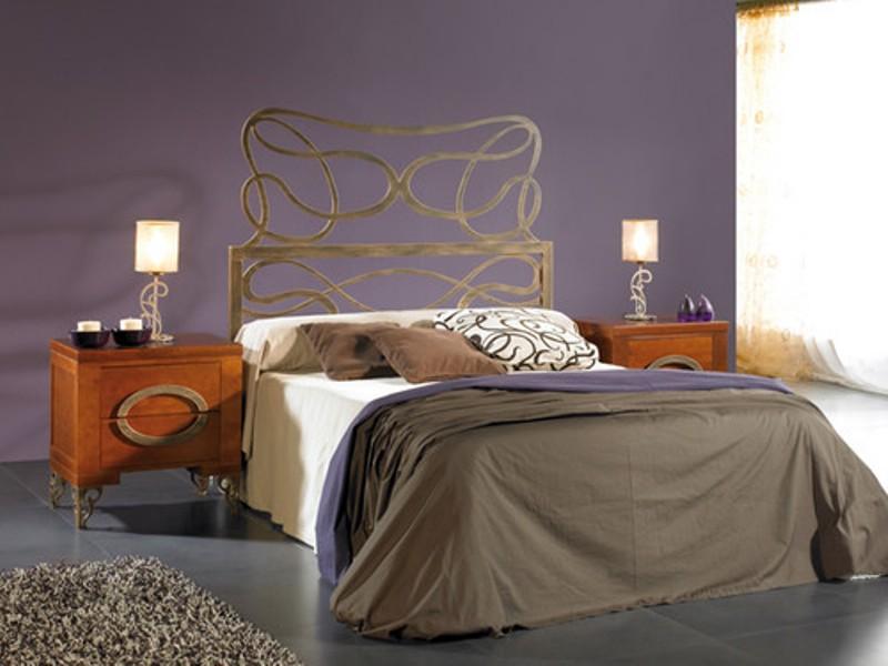Cabecero cama forja moderna reformas y decoraci n de interiores en le n - Cabecero cama forja ...