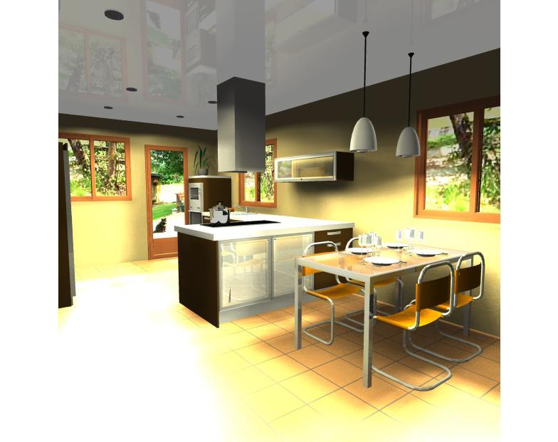 Dise o de cocina zona de comedor reformas y decoraci n for Decoracion de interiores zona sur