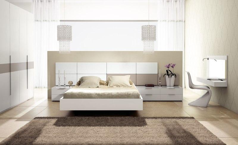 Dormitorio en beige y blanco reformas y decoraci n de - Dormitorio beige ...