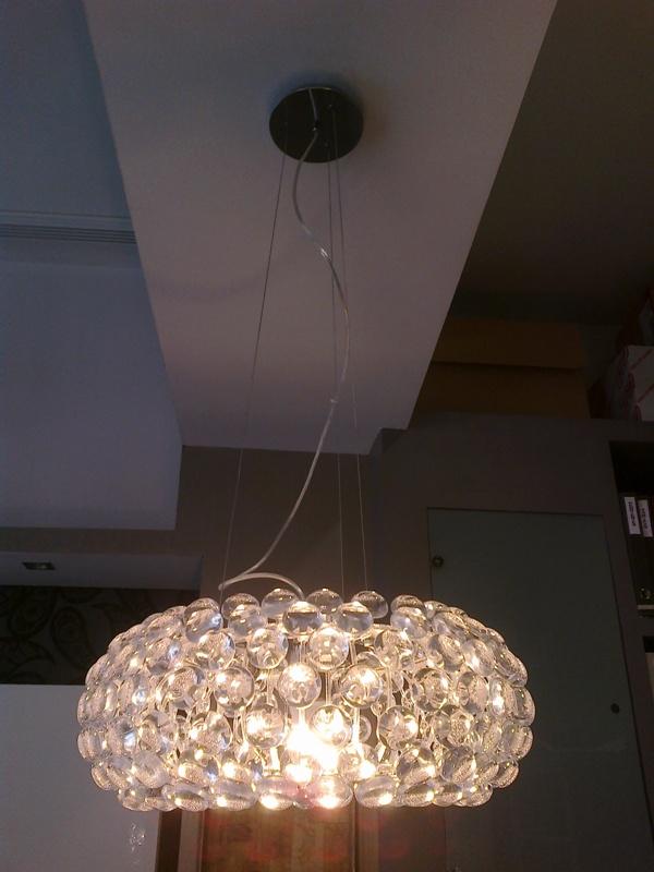 Lampara colgante dise o bolas reformas y decoraci n de - Decoracion de lamparas ...