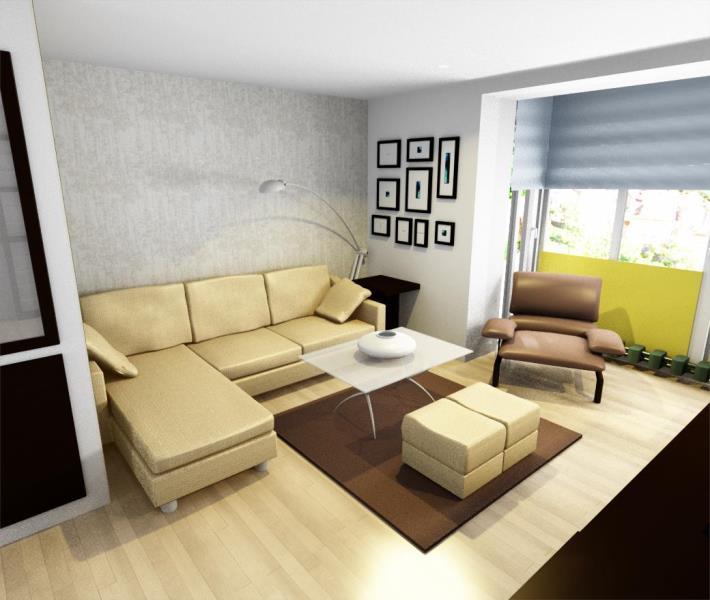 Proyecto sal n distribuci n reformas y decoraci n de - Proyectos decoracion interiores ...
