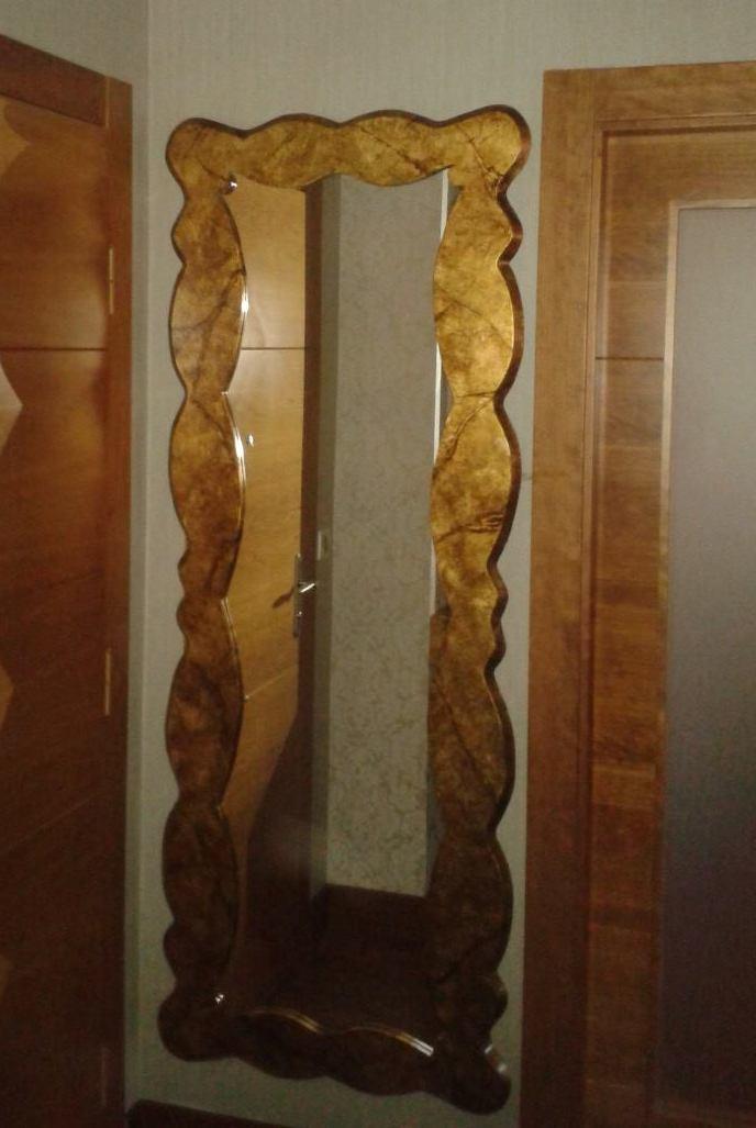 Espejos y marcos reformas y decoraci n de interiores en le n for Disenos de marcos para espejos
