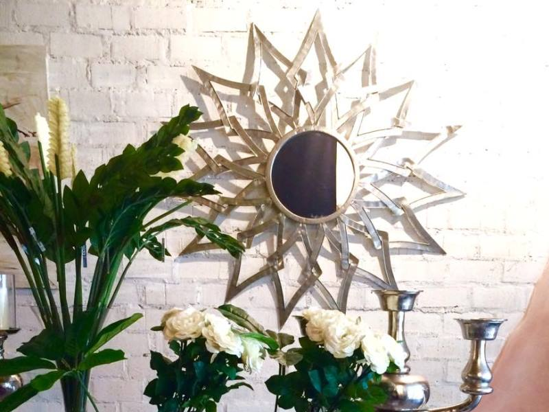 espejo estrella plata belda interiorismo le n reformas y decoraci n de interiores en le n. Black Bedroom Furniture Sets. Home Design Ideas