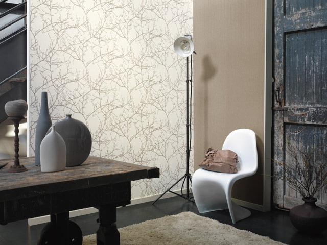 Papel pintado estilo n rdico reformas y decoraci n de for Papel pintado dormitorio estilo nordico