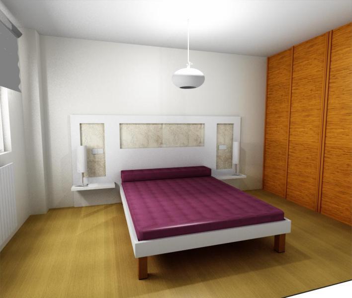 Dise o cabecero de cama 1 reformas y decoraci n de - Cabeceros de cama de diseno ...