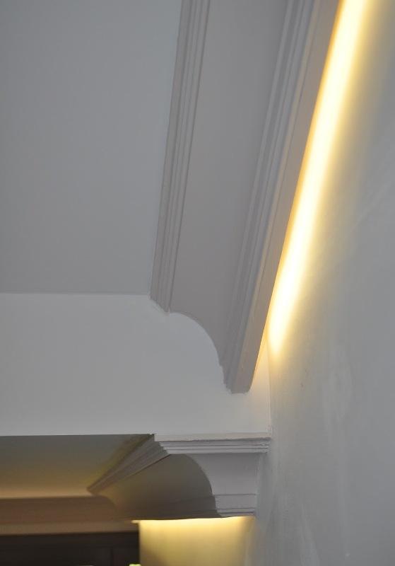 Serranos studio paso a paso de la reforma de un pasillo - Luz indirecta escayola ...