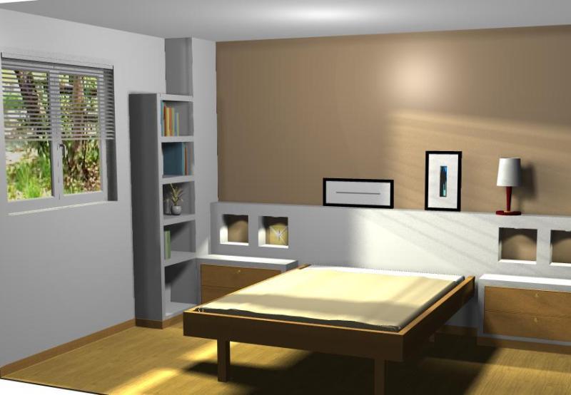 Proyecto cabecero de cama pladur reformas y decoraci n - Cabeceros de cama pintados ...
