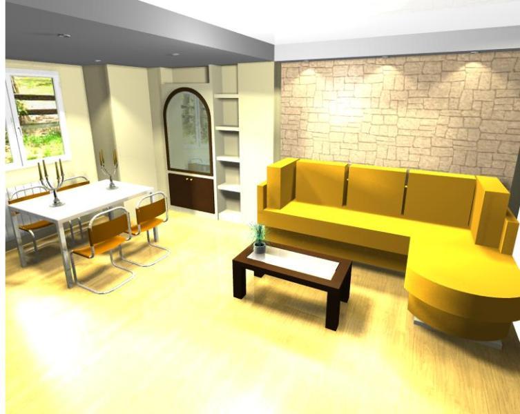 Proyecto hueco columna sal n pladur reformas y - Decoracion columnas salon ...