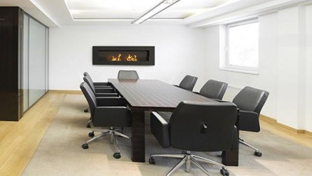Chimenea bioetanol sshuo dolcceto ambiente oficina for Chimeneas interiores sin humo