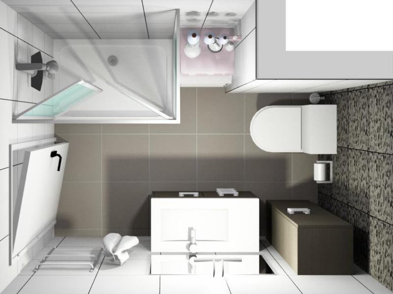Baño Pequeno Distribucion:Mobiliario lavabo baño con piedra acrilica Kreoss retroiluminada led