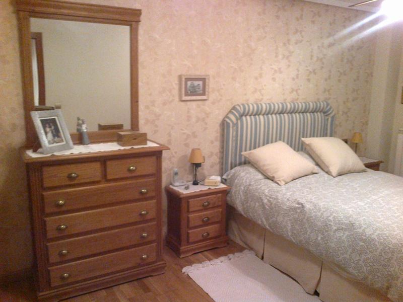 Un armario extra a medida en el dormitorio reformas y - Dormitorios empapelados ...