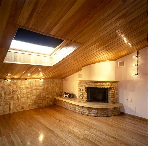 Revestimiento paredes imitaci n piedra chimenea buhardilla reformas y decoraci n de interiores - Revestimiento paredes imitacion piedra ...