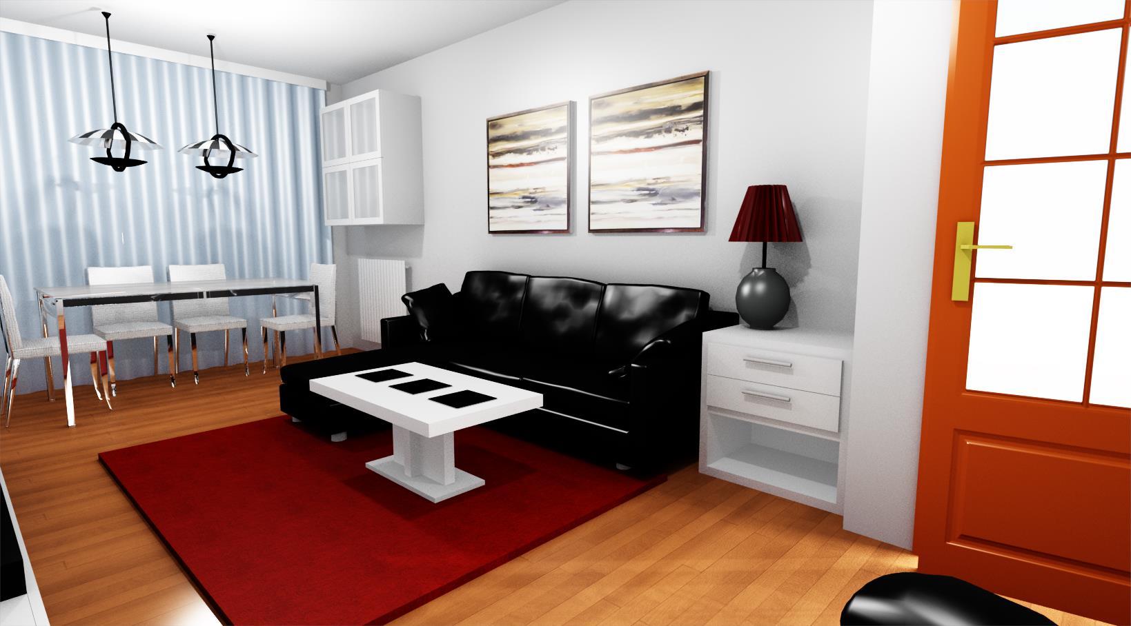 Proyecto decoraci n sal n comedor reformas y decoraci n for Proyecto decoracion interiores