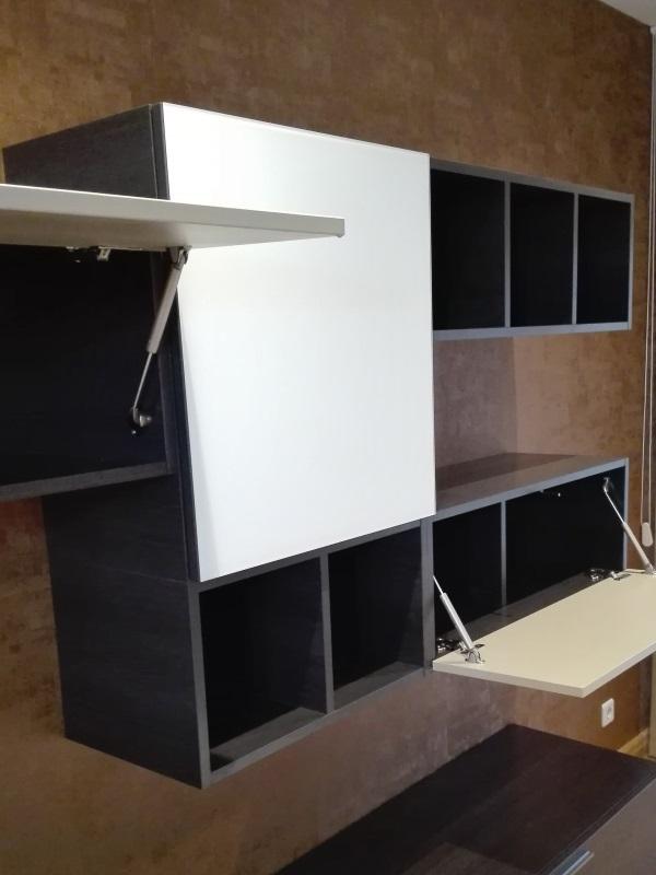 Proyecto Mueble Funcional Diseño De Mobiliario A Medida: Mueble Salón A Medida Sistema De Apertura Elevable