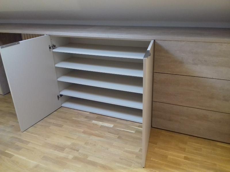 Zona baja mueble a medida zapatero reformas y decoraci n de interiores en le n - Mueble zapatero a medida ...