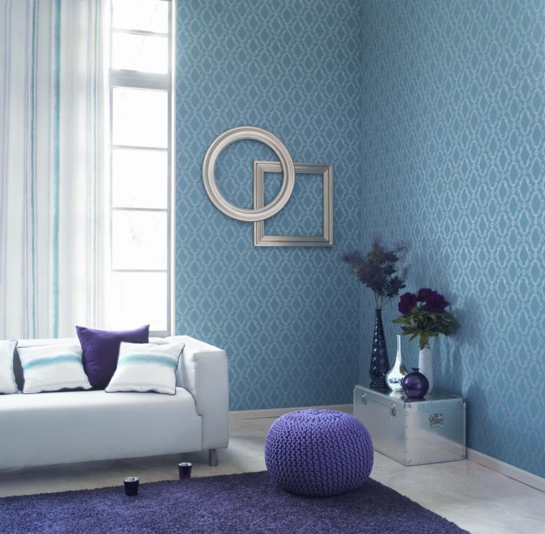Papeles pintados reformas y decoraci n de interiores en le n - Papeles pintados para salones ...